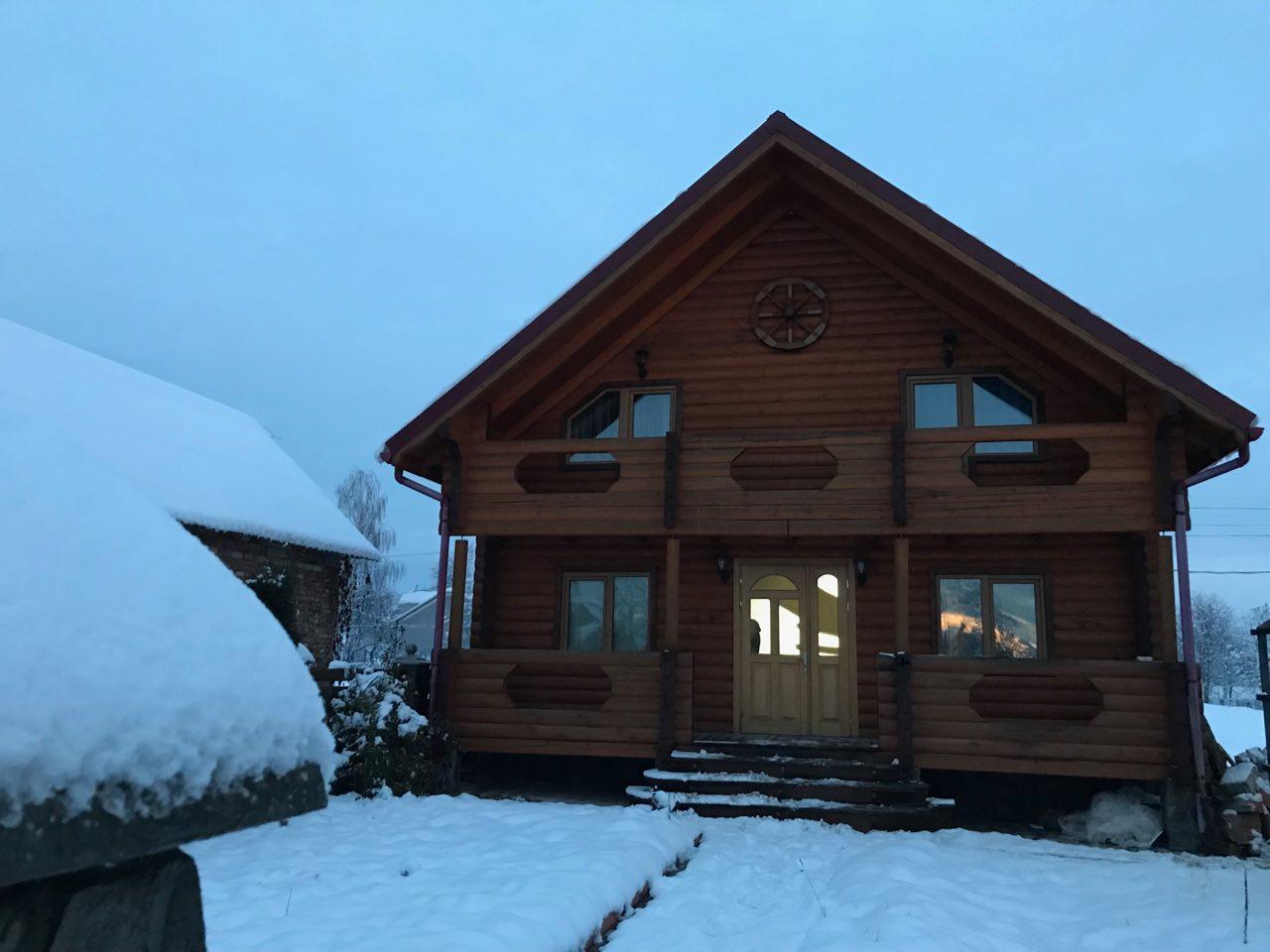 Сруб, деревянный домик