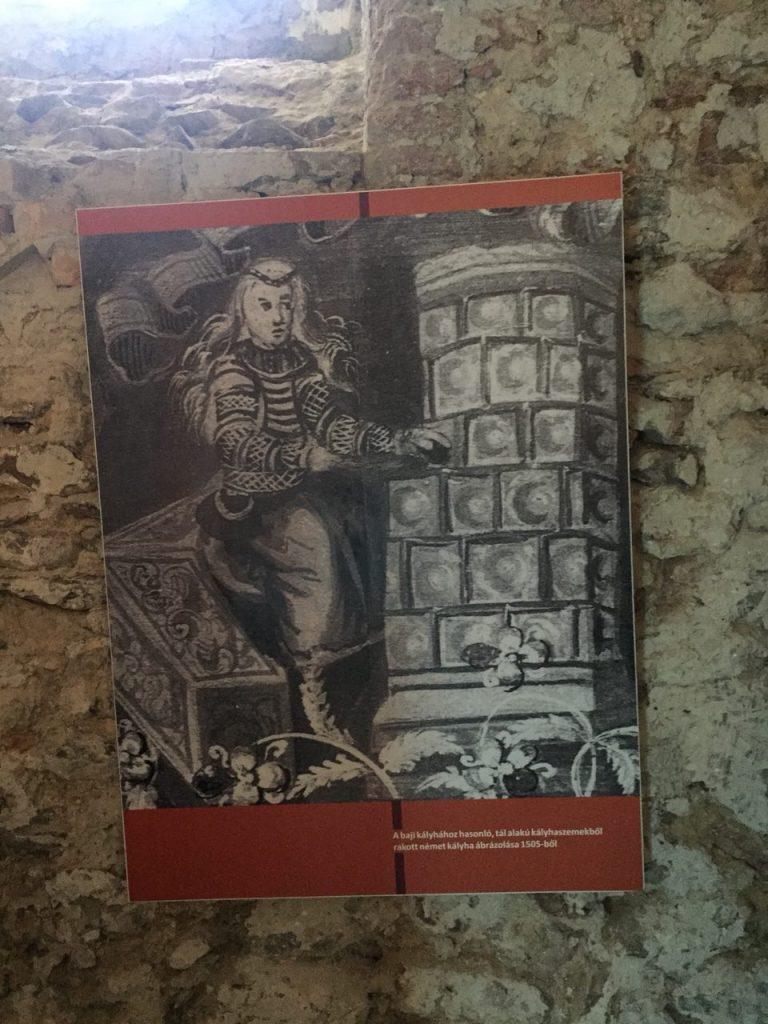 Старый венгерский камин