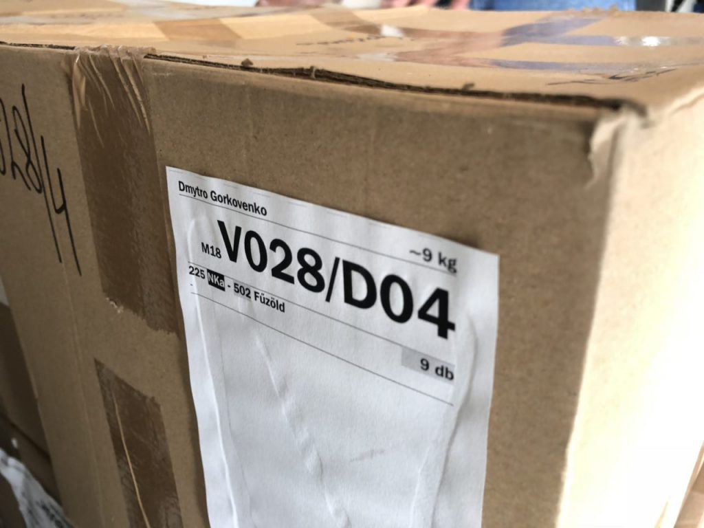 Упаковка изразцов