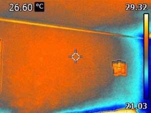Теплоемкий камин из супертермик